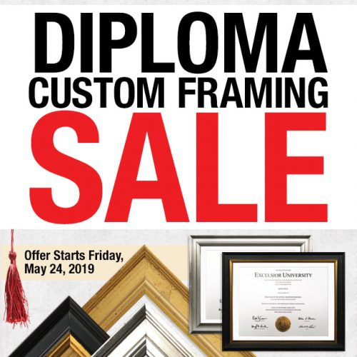 Diploma Framing Offer