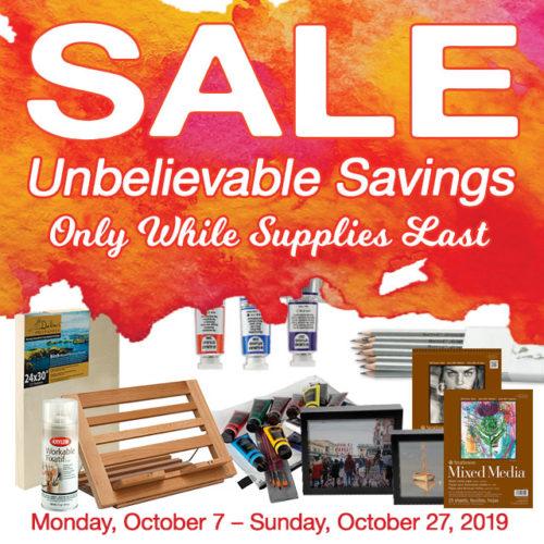 October Sale: Fall Into Savings!