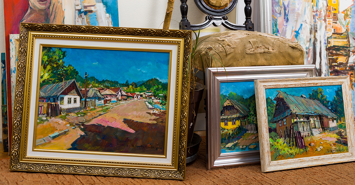 How do I frame a canvas painting? Find out here!