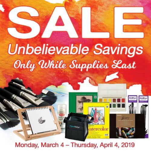 Amazing March Savings