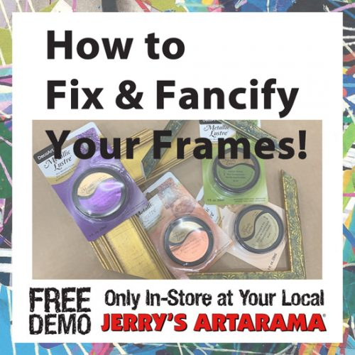 June 16 – How to Fix & Fancify Your Frames with Carbo