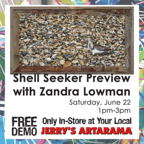 June 22 – Shell Seeker Preview with Zandra Lowman
