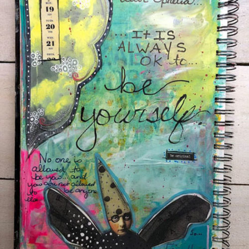 Oct 6 – Breaking Free: An Intro to Art Journaling with Ophelia Staton