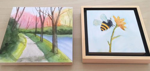 Sept 21 – Forget the Glass! Mounting & Sealing Watercolors with Gail Black
