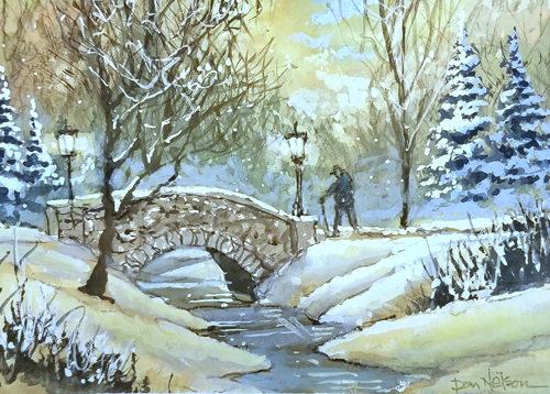 Dec 5 – Winter Wonderland on Aluminum w/ Dan Nelson