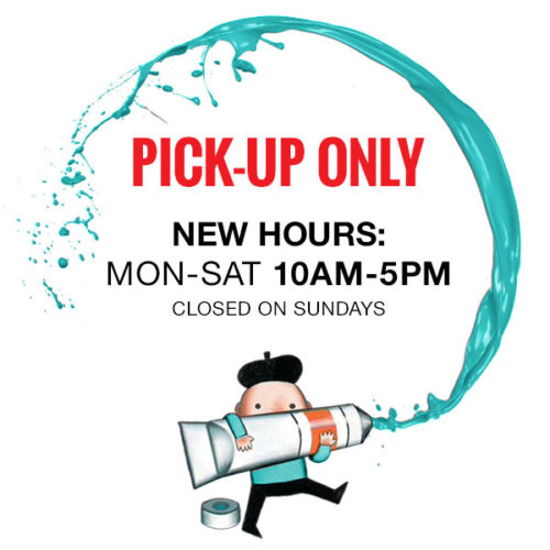 Yes: We're Open for Pickup