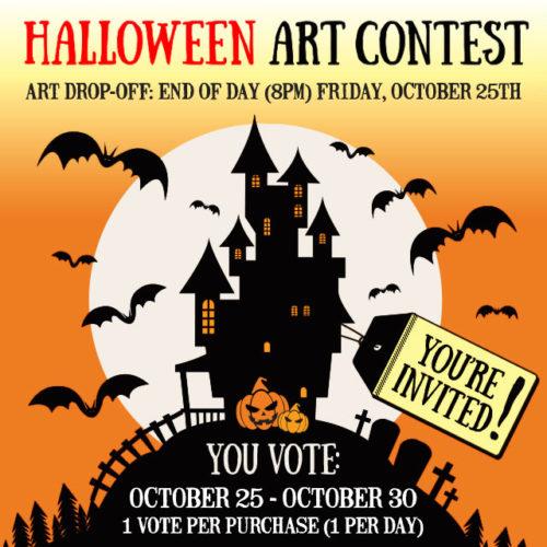Halloween Art Contest
