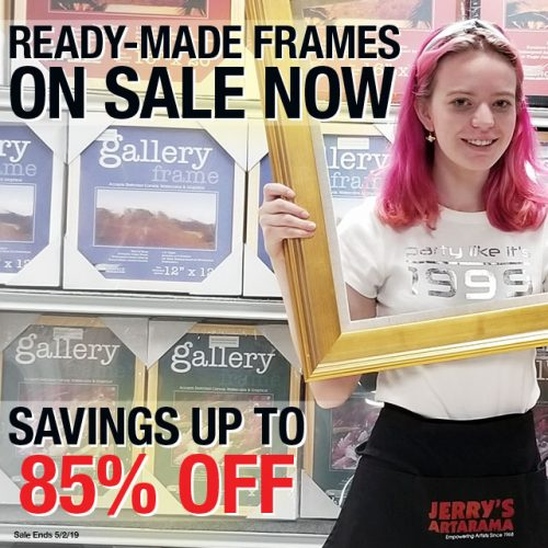 Ready-Made Frames on Sale Now!