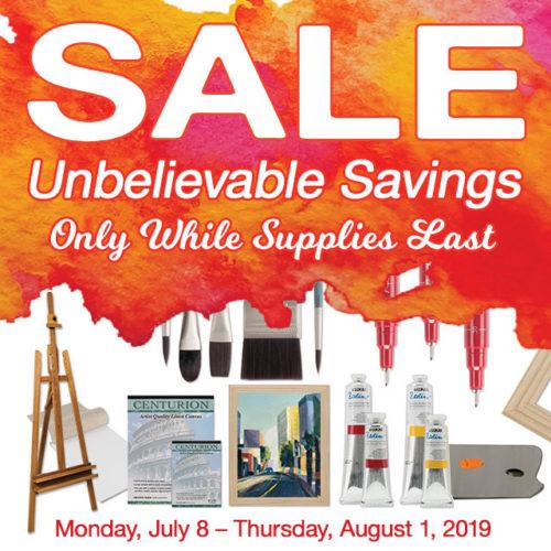 Sizzling July Savings