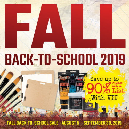 Fall Back-to-School Sale