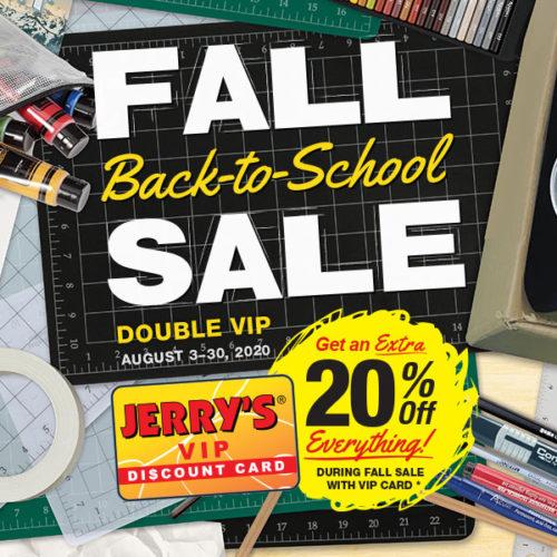Fall Sale!