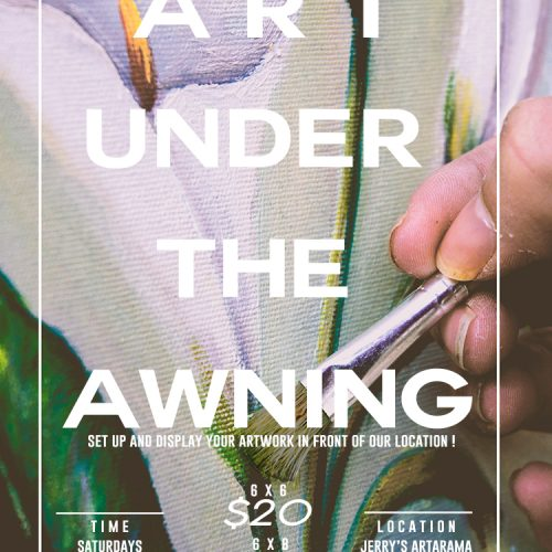 Art Under the Awning: Saturdays in Virginia