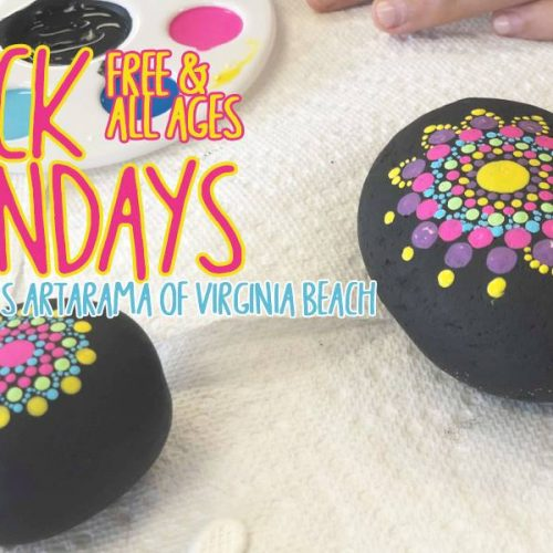 ★ FREE Rock Painting Sundays! All Ages! ★