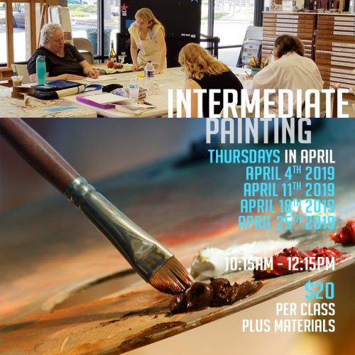 Intermediate Painting Workshop | Carol Heischober