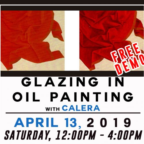 Glazing in Oils with Calera