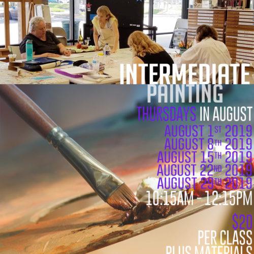 Intermediate Painting Workshop   Carol Heischober