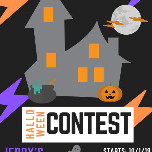 Jerry's Artarama Halloween Contest!