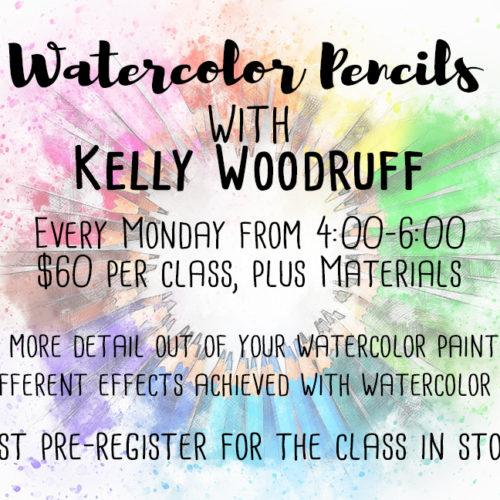 Watercolor Pencils Workshop | Kelly Woodruff