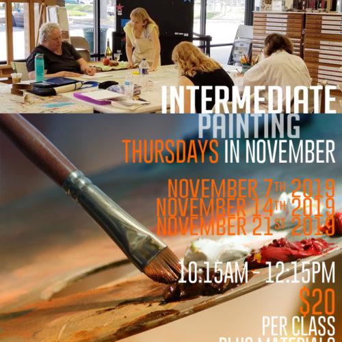 Intermediate Painting Workshop | Carol Heischober