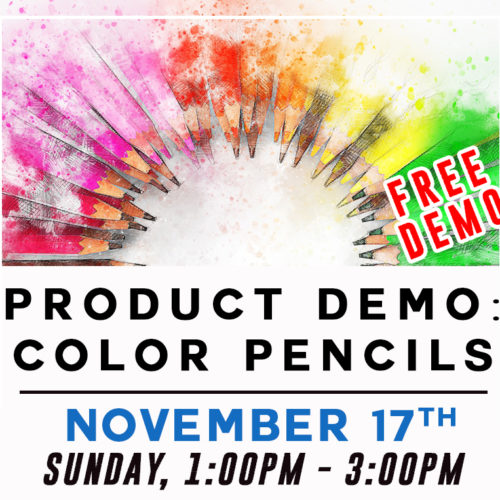 Free Product Demo: Color Pencils