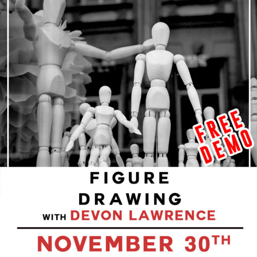 Free Demo! Figure Drawing with Devon Lawrence