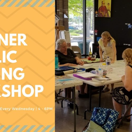 Beginner Painting Workshop | Carol Heischober