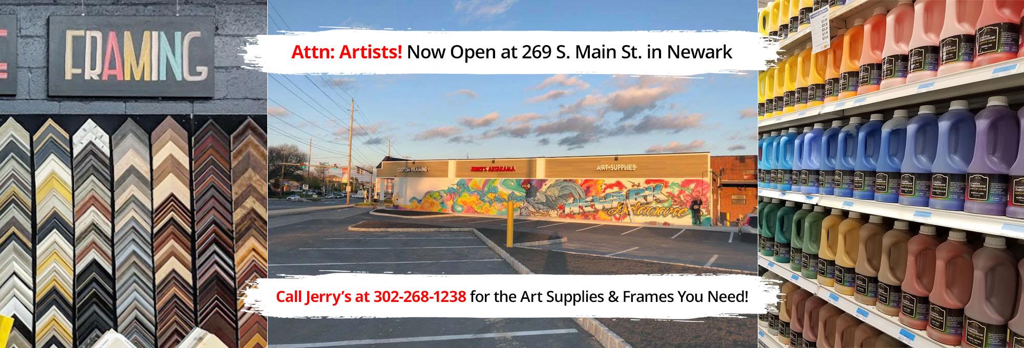 Art Store | Art Supplies | Newark, DE