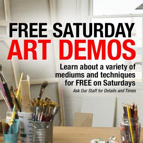 Free Saturday Art Demos in Tempe, AZ