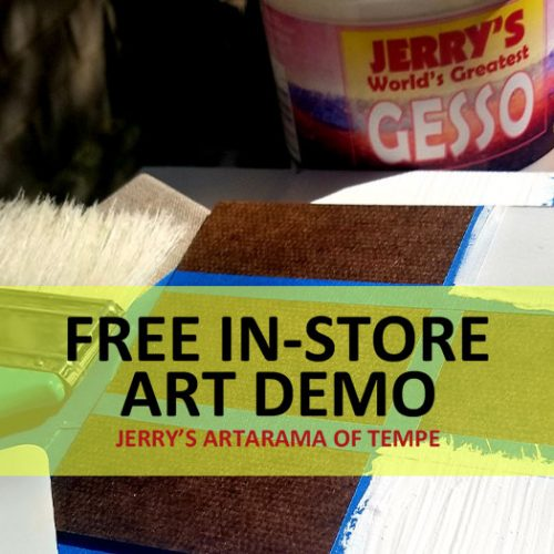 How to Prep a Substrate with Jerry's Gesso