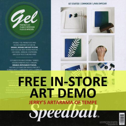 Monoprinting with Gel Plates and SoHo Acrylics
