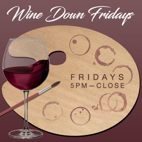 Norwalk Wine Down Fridays Art Demos