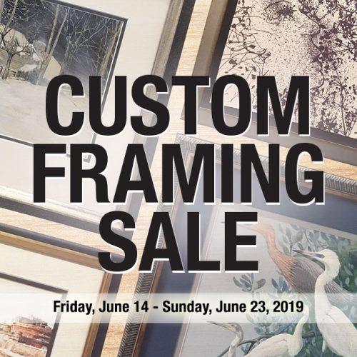 Custom Framing Sale