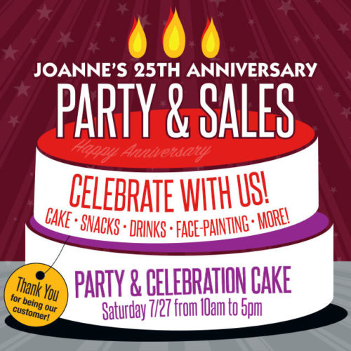 Joanne's 25th Anniversary Party