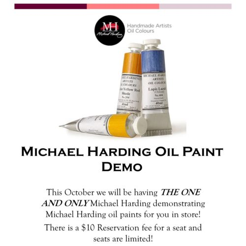 Michael Harding Oils Demo