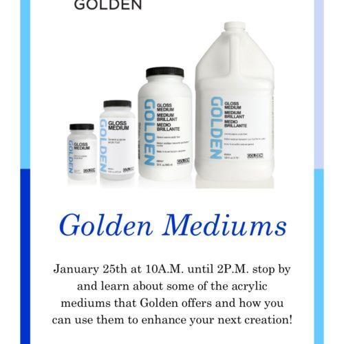 Golden Mediums Demo