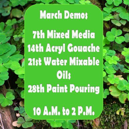 March Demos