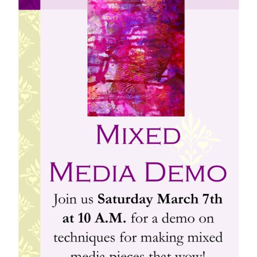 Mixed Media Demo