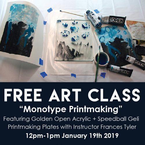 Monotype Printmaking