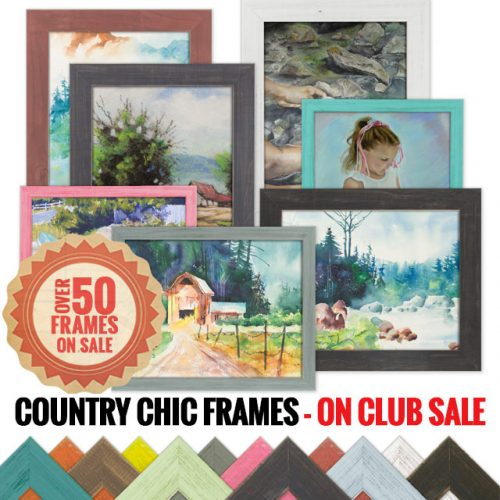 Country Chic Frame Sale