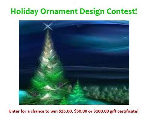 Holiday Ornament Design Contest!