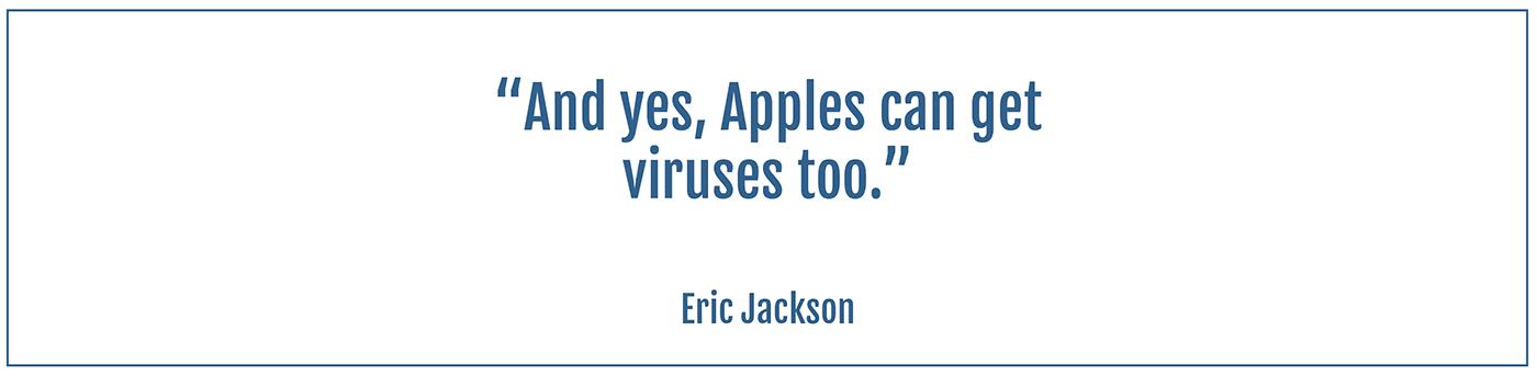 apples get viruses