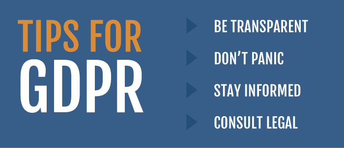 GDPR Steps to Take