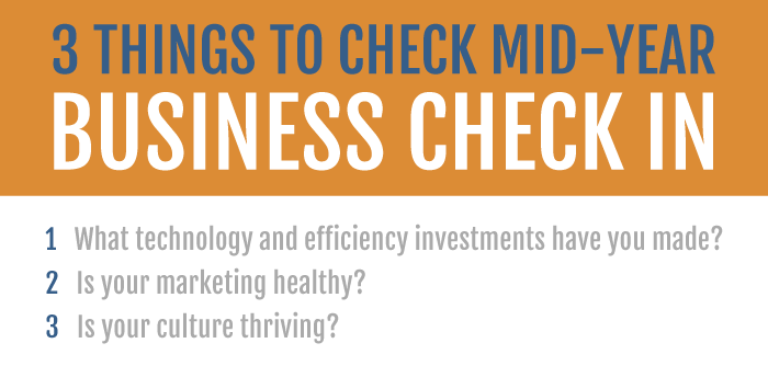 Business Check In | Mid-Year Business