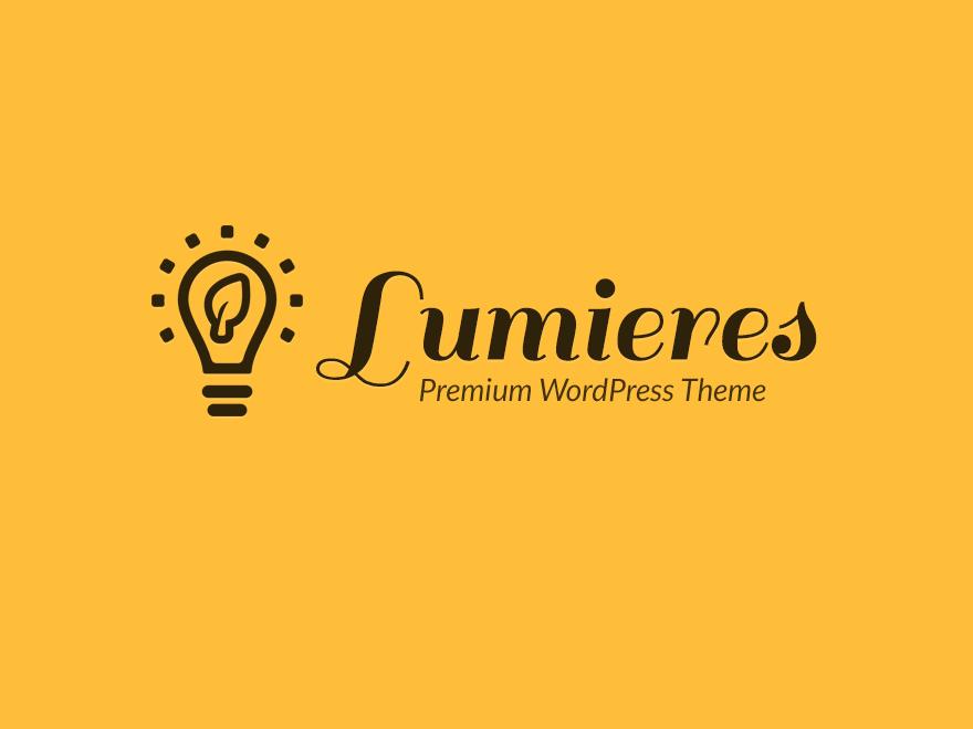 jual Lumieres WordPress Theme
