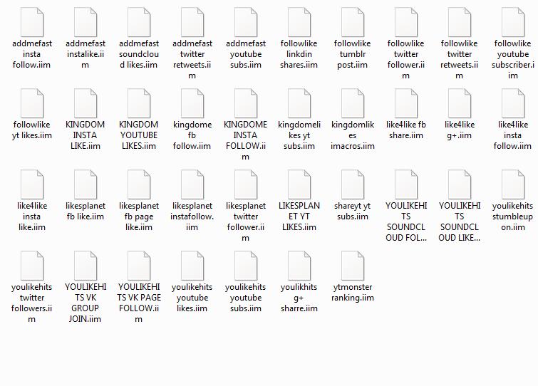 Saya akan berikan koleksi imacros untuk Exchange Sites