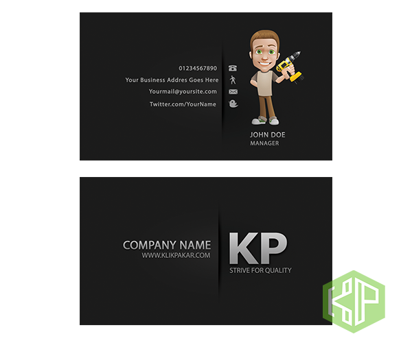 Servis design bisnes kad anda dengan gempak