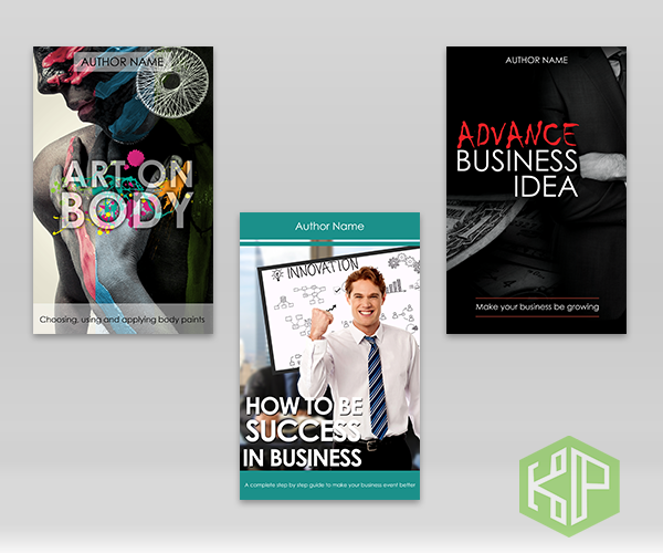 Servis design cover ebook anda dengan gempak