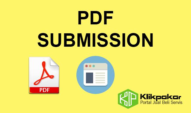 Servis muatnaik PDF file ke 18 website Perkongsian pdf online