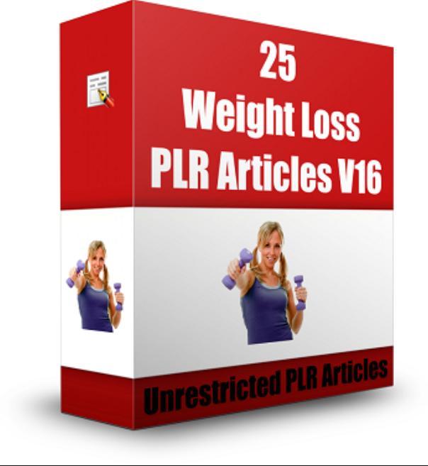 Saya akan beri 25 artikel Weight Loss bahasa inglish & PLR