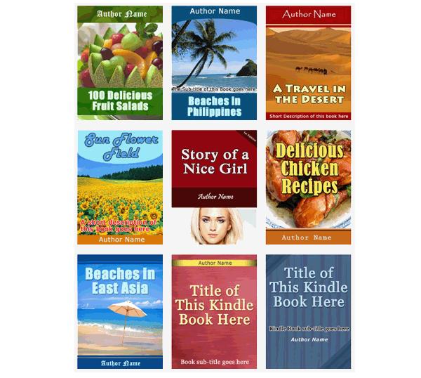 Jual 25 design ebook cover beserta lesen jual semula